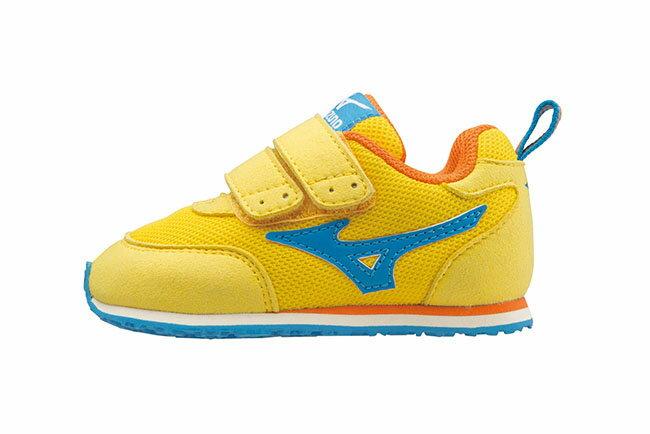 [陽光樂活] MIZUNO 美津濃 幼兒鞋 (黃*藍) K1GD153247
