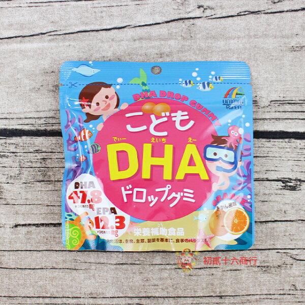 【0216零食會社】兒童機能糖_DHA軟糖(橘子風味)82g