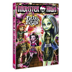 精靈高中:怪奇同盟 Monster High:Freaky Fusion (DVD)