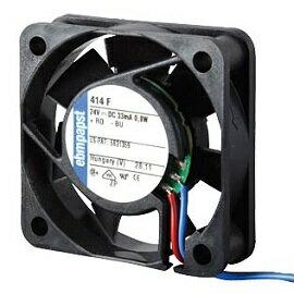 414F ebmpapst 帶2線風扇 24VDC / 0.8W / rpm5400 / 40x40x10mm (含稅) 【佑齊企業 iCmore】