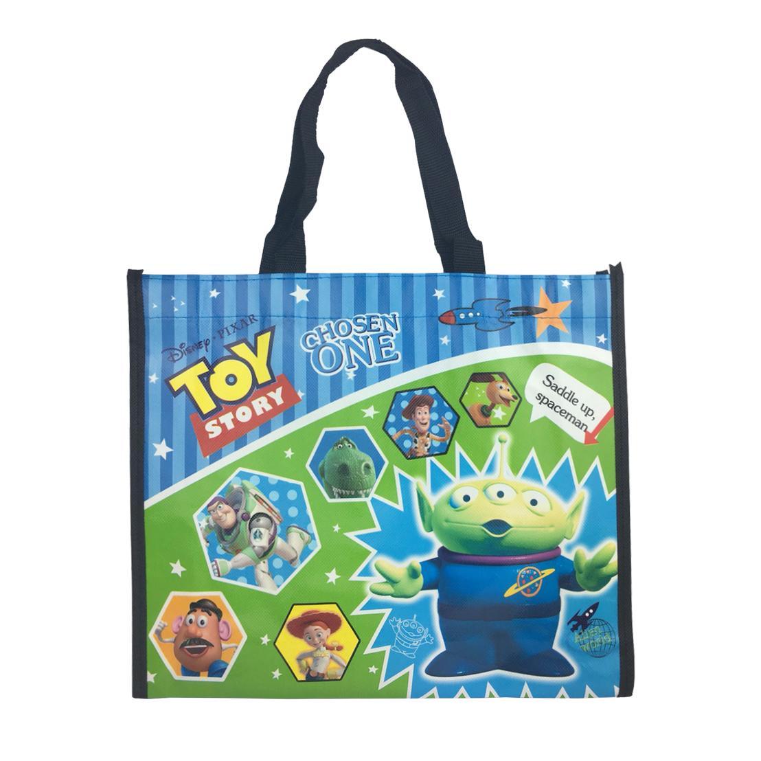 迪士尼 皮克斯 三眼怪 玩具總動員 TOY STORY 購物袋 收納袋 環保袋 袋子 005707