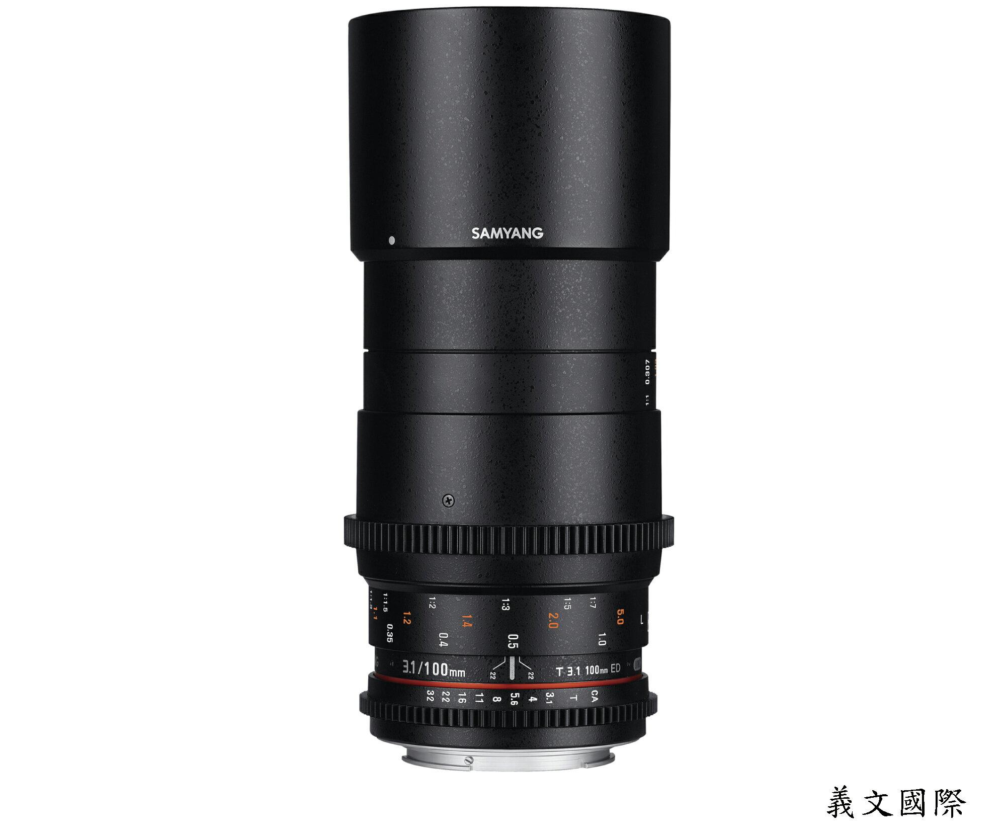 Samyang 鏡頭專賣店:100mm/T3.1 ED UMC MACRO 全幅長焦段近攝鏡頭 for Pentax K