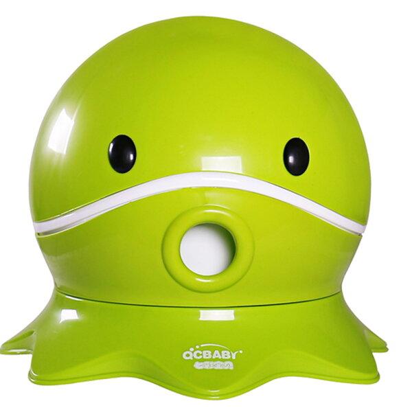 TheLife 樂生活:寶貝樂可愛章魚幼兒馬桶學便器-綠色(BTOT18G)