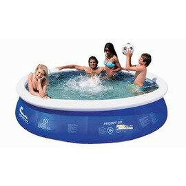 【碟形充氣游泳池-大號-360-5377L-直徑360*76cm-1套/組】圓形水池 3層夾網料 家庭碟形充氣游泳池 兒童學泳釣魚池(四種規格可選)-76033