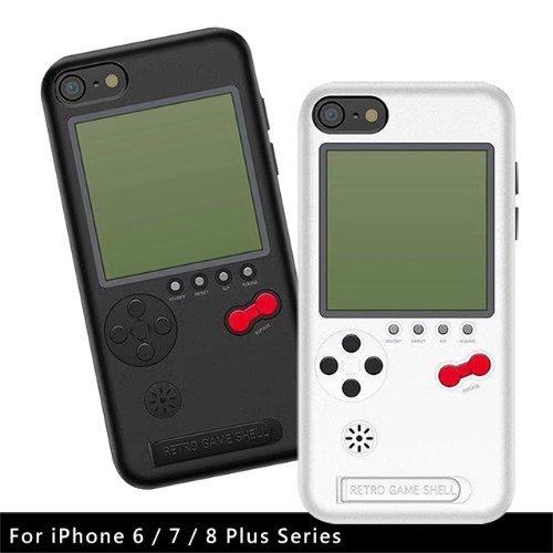 【新風尚潮流】KOOSTYLE懷舊遊戲機手機背蓋保護套適用iPhone678PlusKS-05P