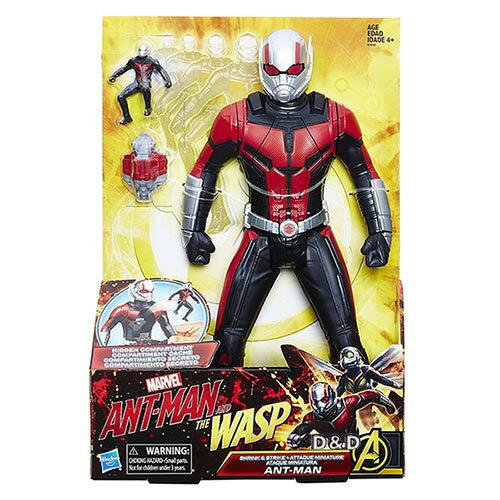 《漫威超級英雄》蟻人電影12吋變大變小動作人物