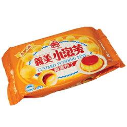 義美 小泡芙-雞蛋布丁 57g