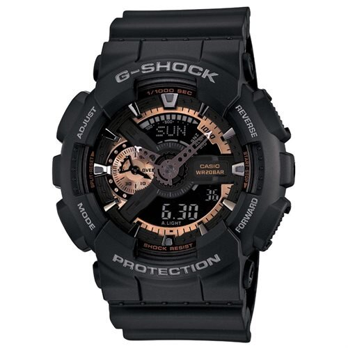 Casio Men's GA110RG-1A G-Shock Black Watch 0