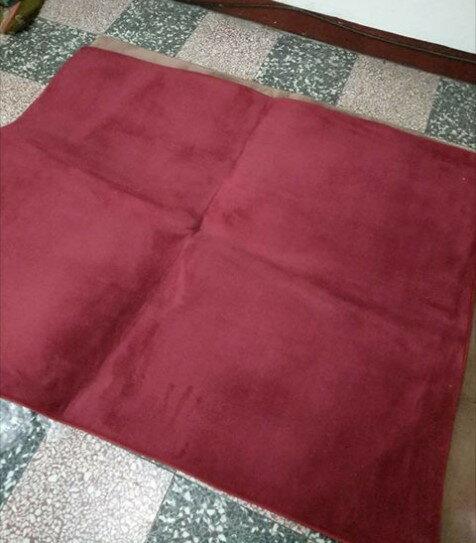 只有一條 免運 特價出清 酒紅色 120*140 CM 珊瑚絨地毯