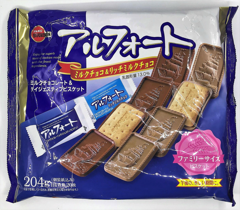 [哈日小丸子]北日本牛奶巧克力帆船餅乾(20枚)