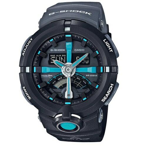 CASIO G-SHOCK 城市地標風格運動腕錶/GA-500P-1A