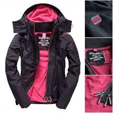 帝安諾-極度乾燥 Superdry 防風 防潑水 防寒 連帽外套 風衣外套 保暖衝鋒衣 外套 黑桃 G50023ZNDR