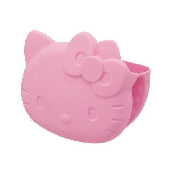 X射線【C171505】Kitty矽膠隔熱手套(粉),防燙夾/隔熱/保溫/烘焙烤箱專用手套/杯蓋/隔熱墊/桌墊