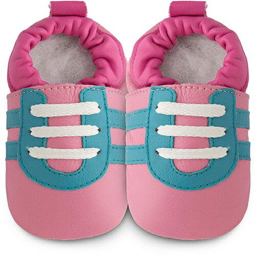 【hella 媽咪寶貝英國 shooshoos 健康無毒真皮手工鞋/學步鞋/嬰兒鞋 格洛莉雅 102785 (公司貨)