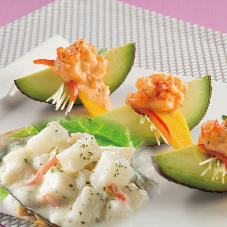 沙拉兩件組【海鮮主義】日式龍蝦(250g / 包)+鮑魚風味(250g / 包)沙拉●退冰即可食用  ●適合涼拌、生菜沙拉、麵包土司夾層,都相當美味#輕食 0