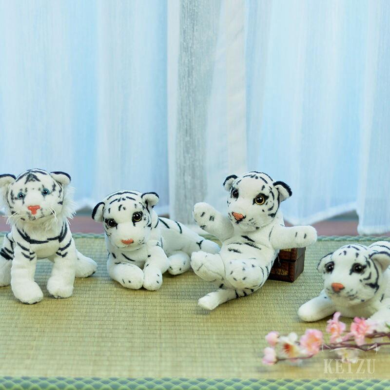 【凱茲工坊】白老虎玩偶 ● 五虎退可用–預購|COSPLAY道具|刀劍亂舞|白老虎娃娃