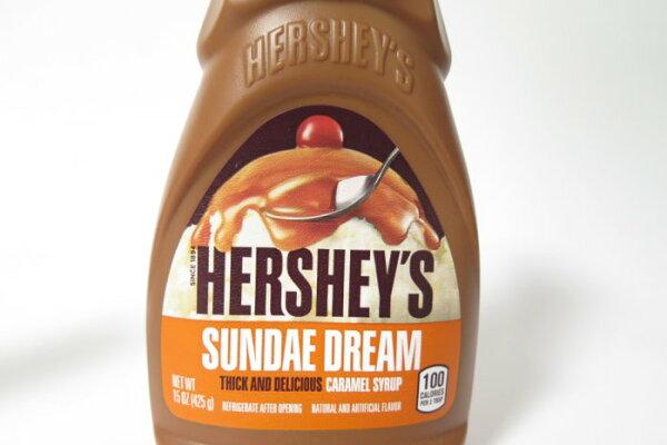附發票-愛鴨咖啡-HERSHEY'S好時經典焦糖醬賀喜焦糖醬15oz425g