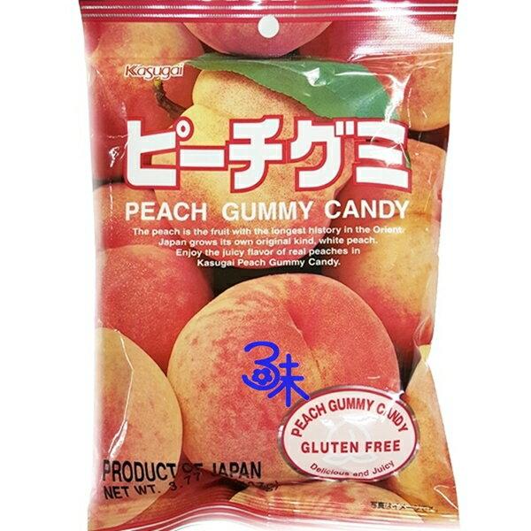 (日本) 春日井軟糖-水蜜桃 1包 113 公克 特價 88 元 【4901326040342 】(水蜜桃軟糖 QQ軟糖)
