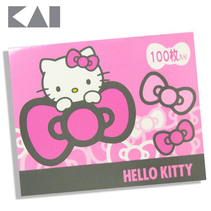 ~貝印KAI~Hello Kitty 吸油面紙100入^(KK1701^)