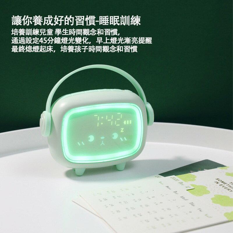 【新款】智能感應 時光天使鬧鐘 聲控感應 鬧鐘 時鐘 夜光貪睡電子鐘 小夜燈 溫度顯示 多功能led數字鬧鐘
