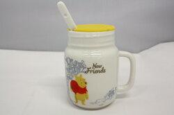 小熊維尼 三件式 杯組 迪士尼 泡茶杯 維尼 水杯 茶杯 正版授權 T0001 37