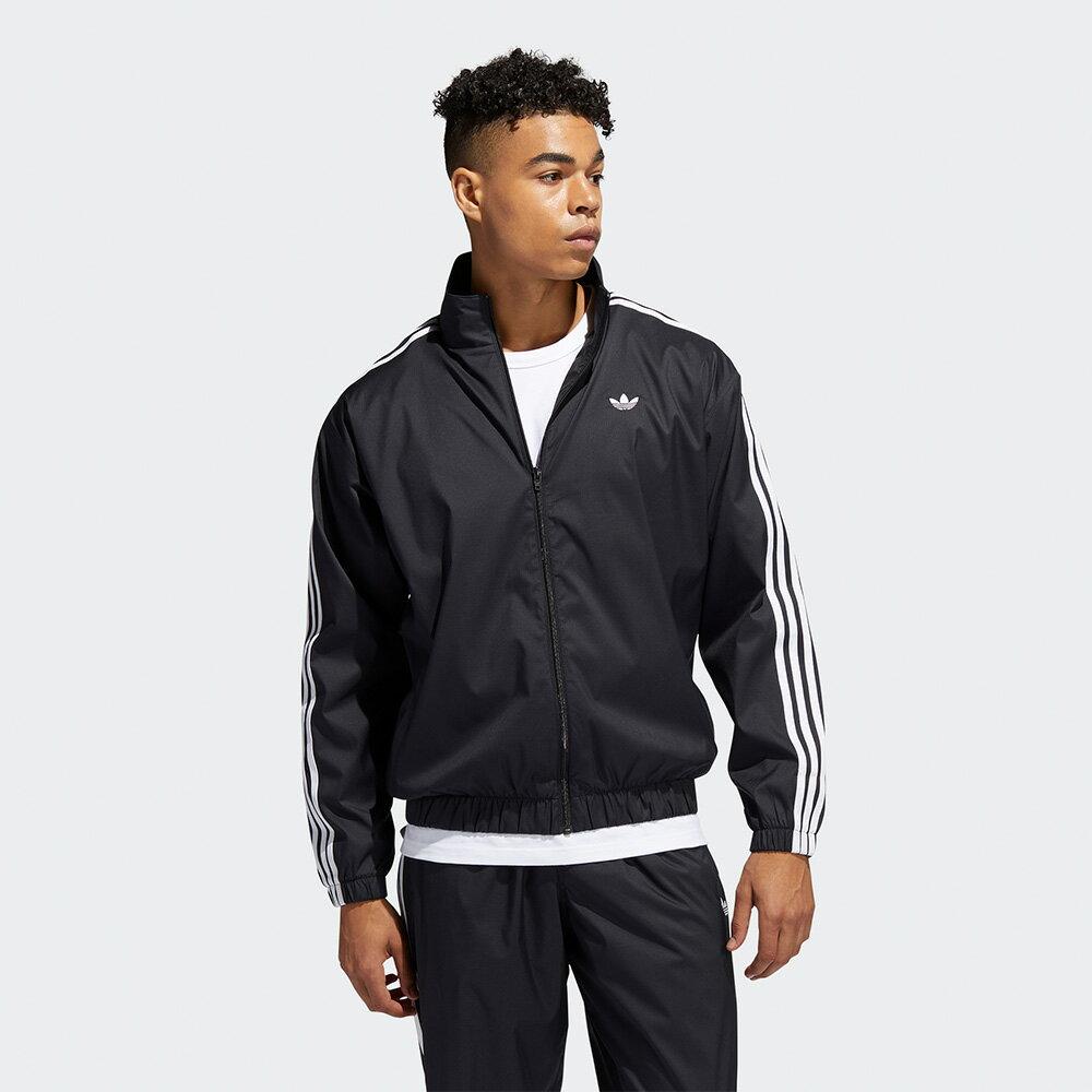 Adidas Originals FIREBIRD 男裝 外套 立領 休閒 防撕裂 口袋 三條線【運動世界】GL9928
