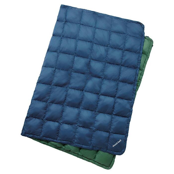 【鄉野情戶外專業】mont-bell |日本|多用途羽絨毯/蓋毯 羽絨毯子/-深藍 1124593