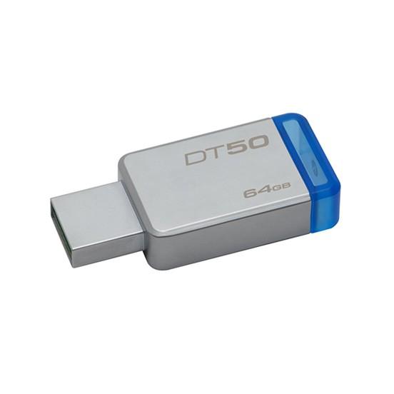 Kingston 金士頓 8GB 16GB 32GB 64GB DT50 USB3.0 金屬無蓋 隨身碟 保固公司貨