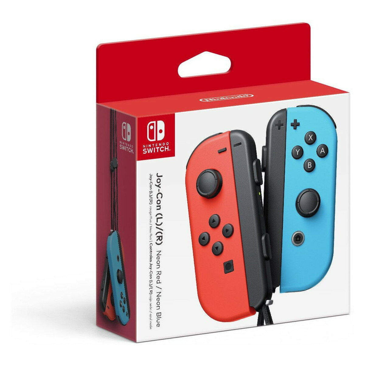 Nintendo Switch - Joy-Con - Neon Red/Neon Blue - (Left/Right) Controllers 0