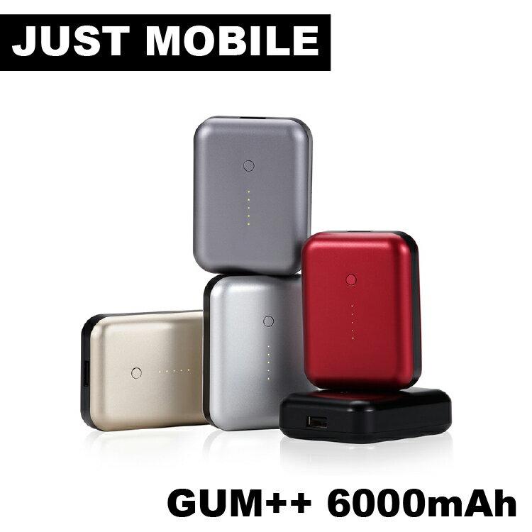 Just Mobile Gum++? 高效能6000 mAh鋁質行動電源
