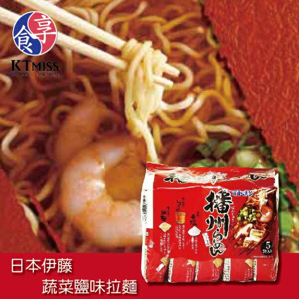 KTMiss:【KTmiss】伊藤播洲醬油拉麵5入袋