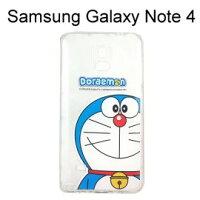 小叮噹週邊商品推薦哆啦A夢空壓氣墊軟殼 [大臉] Samsung Galaxy Note 4 N910U 小叮噹【正版授權】