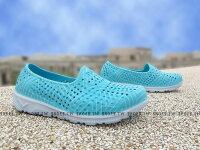 Shoes 童鞋 防水 洞洞鞋 線條 親子鞋