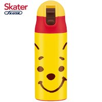 小熊維尼周邊商品推薦日本 Skater 不鏽鋼保溫吸管瓶(360ml)-小熊維尼