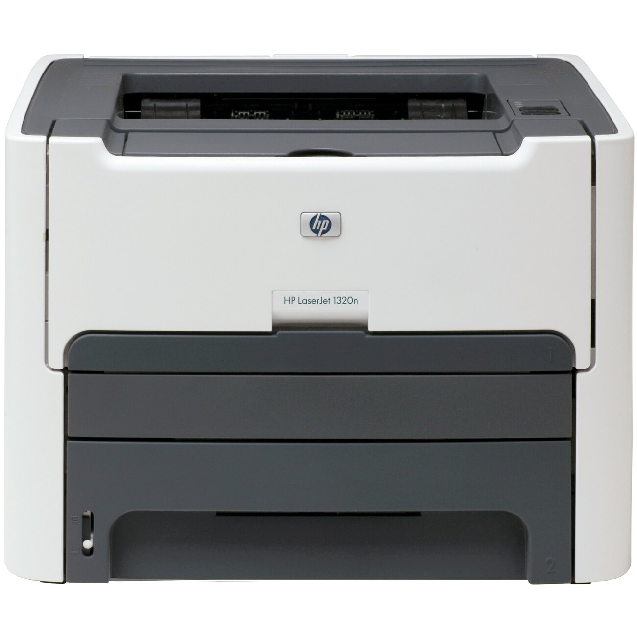 HP LaserJet 1320N Laser Printer - Monochrome - 1200 x 1200 dpi Print - Plain Paper Print - Desktop - 22 ppm Mono Print - Legal, Executive, Index Card, Envelope No. 10, Monarch Envelope, Custom Size - 250 sheets Standard Input Capacity - 10000 Duty Cycle - 0