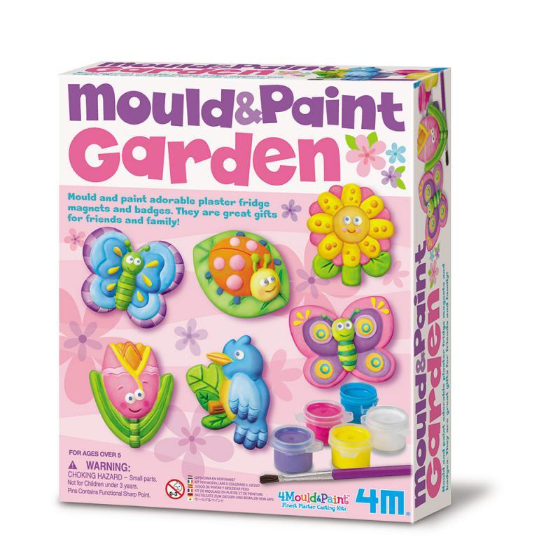 【 4M 美勞創作】Mould & Paint / Garden 蝴蝶花園(磁鐵系列)