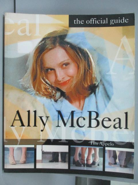 ~書寶 書T2/寫真集_YBB~Ally McBeal_the official guid