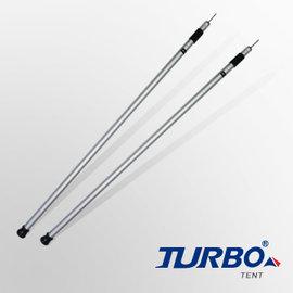 【【蘋果戶外】】TT-TL06 Turbo Tent 伸縮桿 伸縮營柱 195cm 2入一組