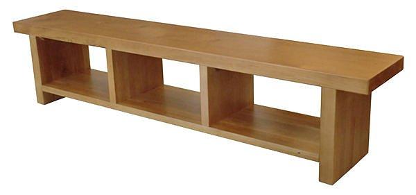 【尚品傢俱】 ※展品出清※ 411-04 和風南洋檜木實木8尺長櫃矮櫃電視櫃