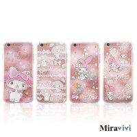 美樂蒂My Melody周邊商品推薦到Sanrio三麗鷗iPhone 6/6S Plus(5.5吋)施華落世奇水鑽防摔氣墊空壓保護套_美樂蒂系列
