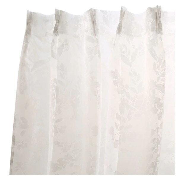 蕾絲窗簾 PUTY 100×138×1 NITORI宜得利家居 2