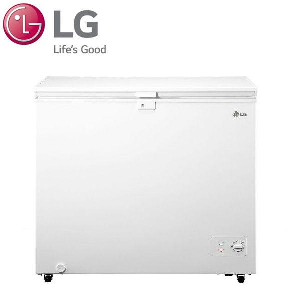昇汶家電批發:LG 樂金 單門上掀式臥式冷凍櫃 水漾白 198公升 GC-F200W