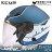 贈好禮 ZEUS安全帽 ZS-612A AD1 消光藍白 內藏墨鏡 防雨止水條 半罩帽 3 / 4罩 通勤 耀瑪騎士機車部品 1