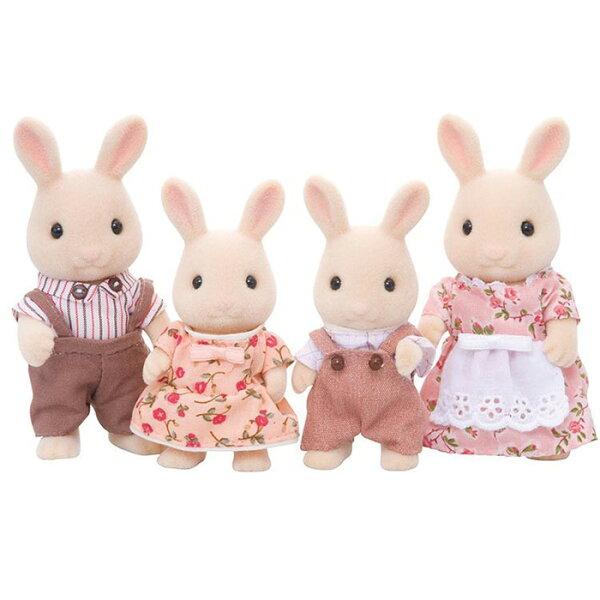 森林家族牛奶兔家庭組【鯊玩具ToyShark】