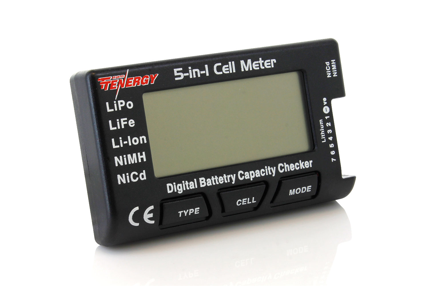 Tenergy 5 In 1 Intelligent Cell Meter Capacity Checker Simple Servo Tester Battery Balancer