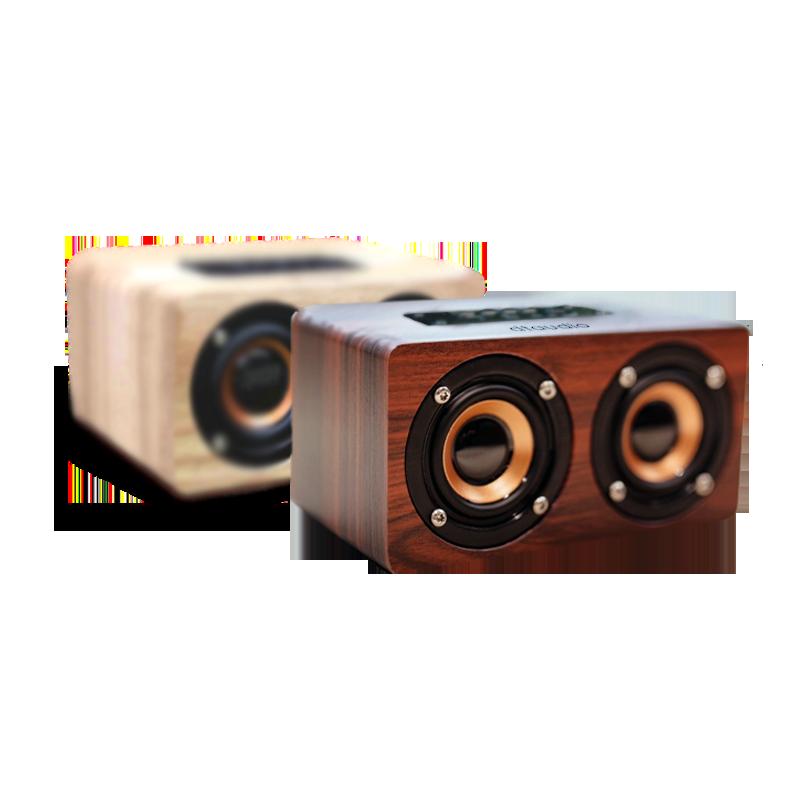 聆翔木質藍芽喇叭 音質狠好-實木手感 10w猛烈輸出 支持藍牙插卡插線 藍牙喇叭 藍芽音響 木質喇叭 交換禮物 原裝正品 - DTAudio