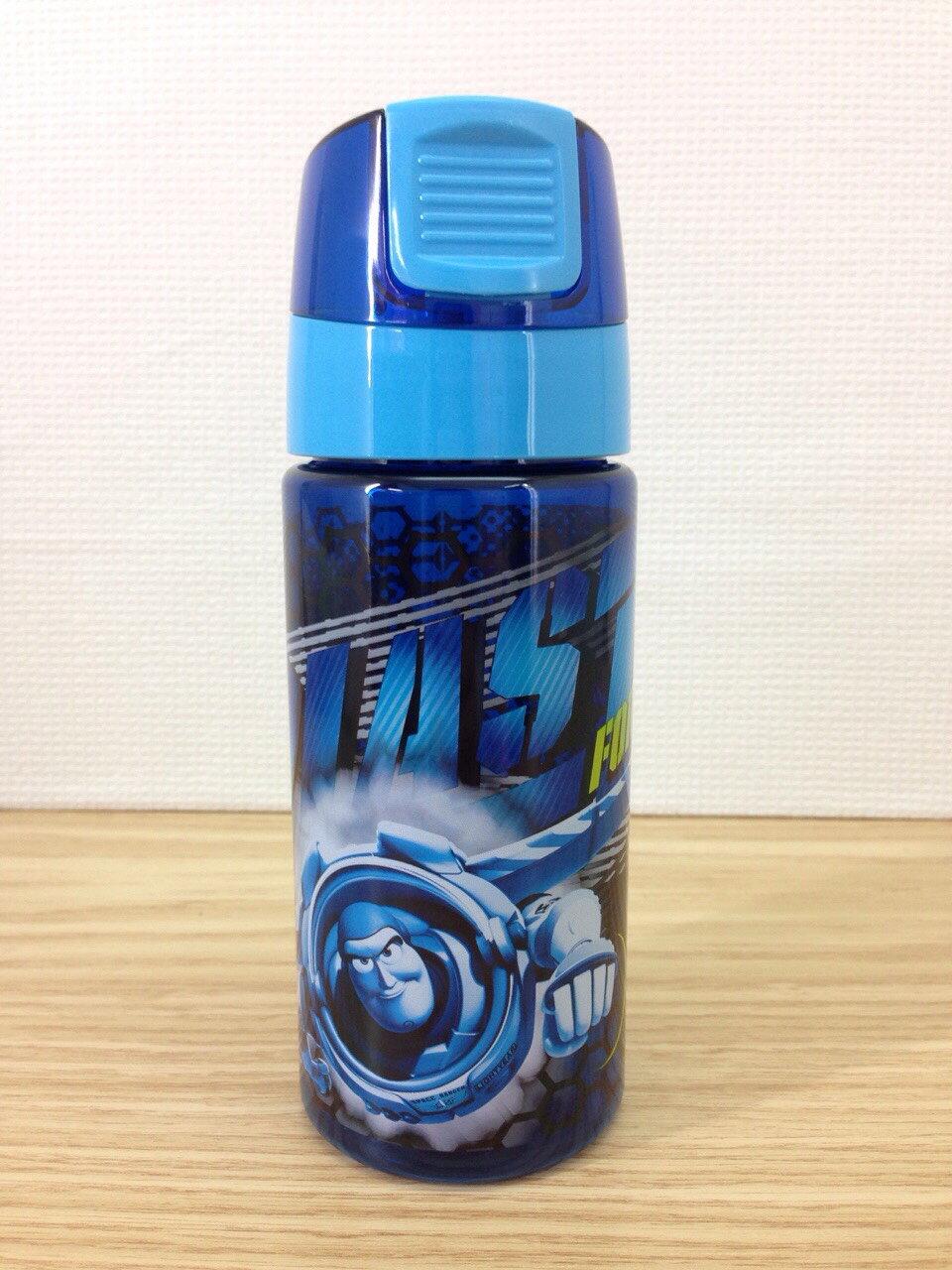 【真愛日本】15101500013 限定DN運動水壺-巴斯藍 迪士尼 巴斯光年 玩具總動員 水杯 隨身瓶 生活用品