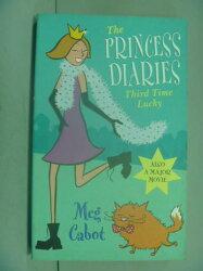 【書寶二手書T8/原文小說_LOA】Princess Diaries: Third Time Lucky_MEG CAB