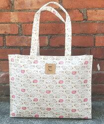 【賠錢出清】 Dolly Club朵莉俱樂部(台灣製造防水包)肩背袋 橫式補習袋 公文袋 樂譜袋 綿羊圖案