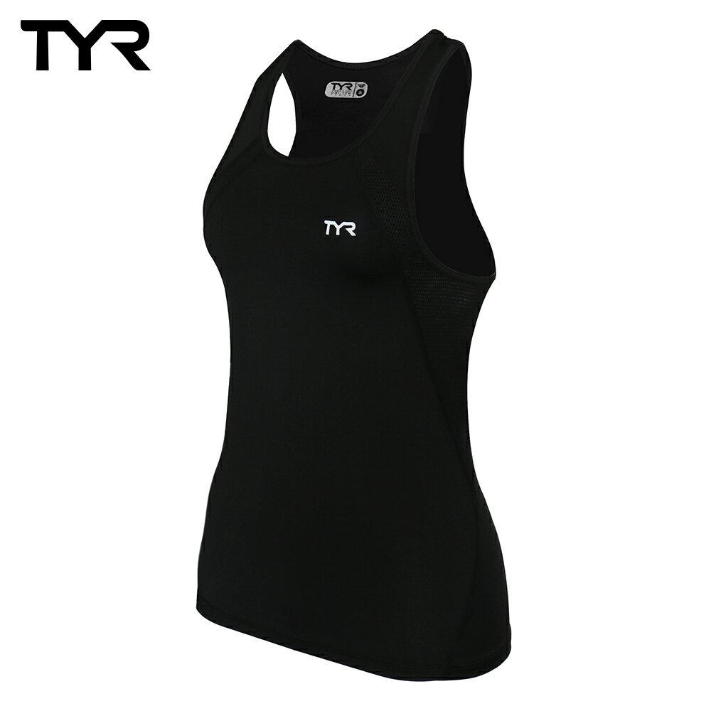 美國TYR 女款透氣排汗黑色背心 Ladies Tank 台灣總代理